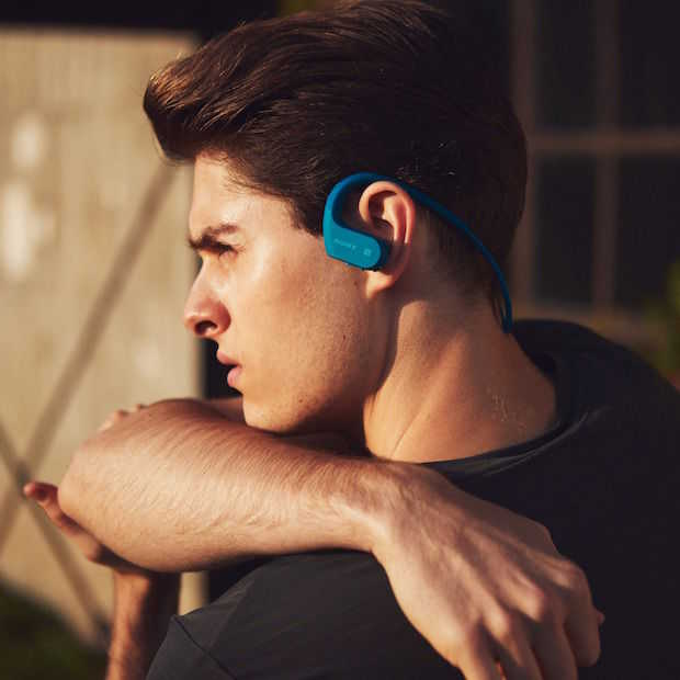 Sony introduceert waterdichte walkman met bluetooth