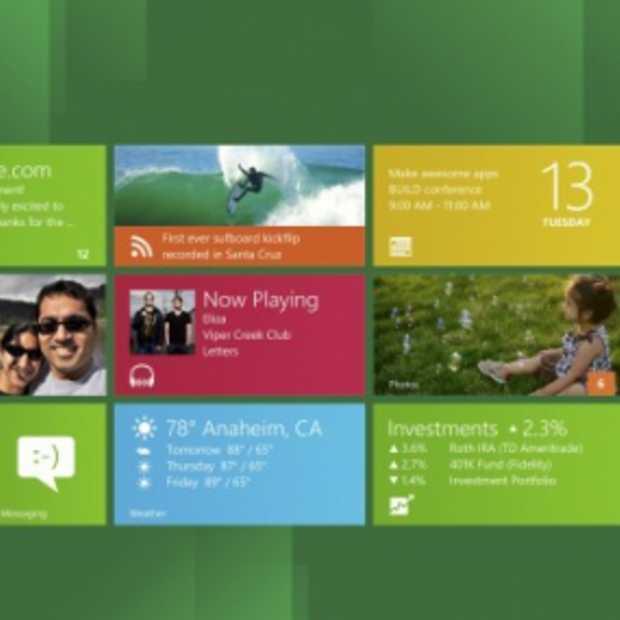 Windows 8 Interface Veelbelovend maar Foei wat een lelijke kleuren