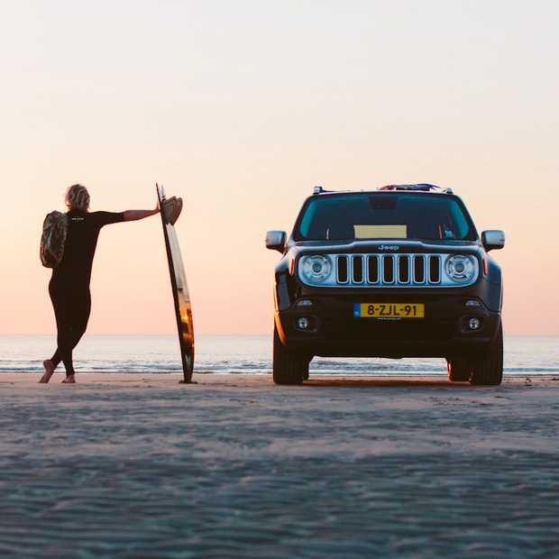 Golfsurfkampioen Yannick de Jager meets Jeep