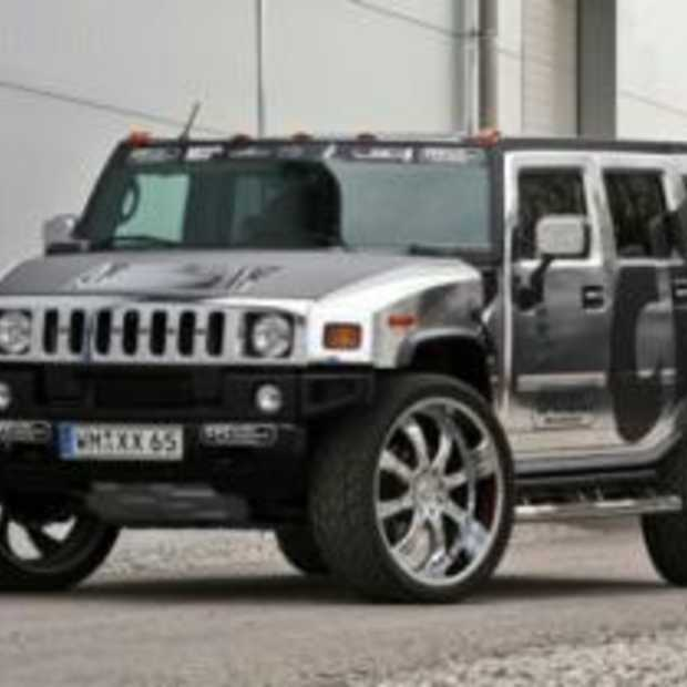 You Got Class! Chrome Hummer H2