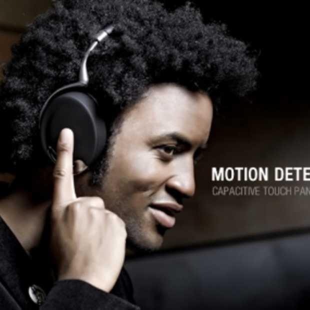 Zik Parrot headset by Starck met Bewegingssensoren